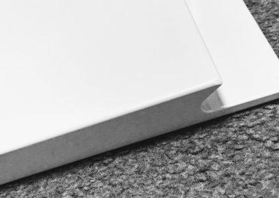 Handleless Gloss White Kitchen Door